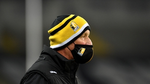 Brian Cody watches on at Croke Park during Kilkenny's game with Dublin