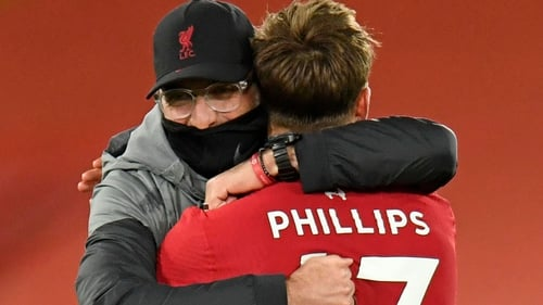 Klopp sang the praises of defensive stand-in Phillips