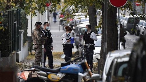 The attacker fled the scene but Lyon's public prosecutor later announced that a suspect had been arrested