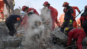 Nearly 6,000 rescuers have been working all day and all night since Friday