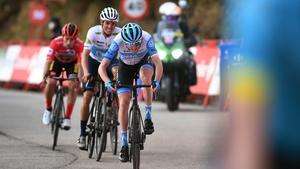 Dan Martin during the 11th stage of the Vuelta a Espana