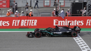 Hamilton now leads by 85 points in the Drivers' Championship