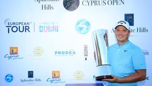 Callum Shinkwin shot a sensational 63 before winning the Cyprus Open after a playoff