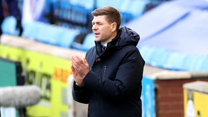 A 5-0 thumping of Ross County marked Gerrard 150th game in charge