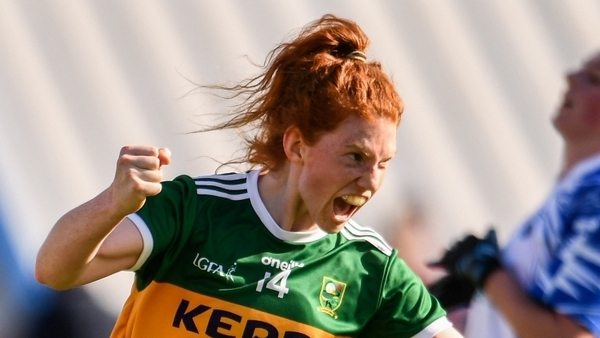Louise Ní Mhuircheartaigh (file photo) scored two goals for Kerry