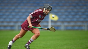 Aoife Donohue was to the fore in Galway's easy win over Offaly in a drenched Salthill