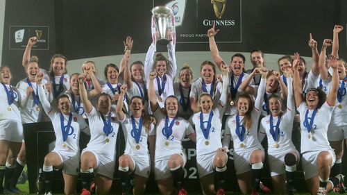 England scored four tries in each half in Parma