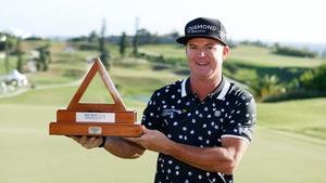 Brian Gay won the Bermuda Championship after a playoff