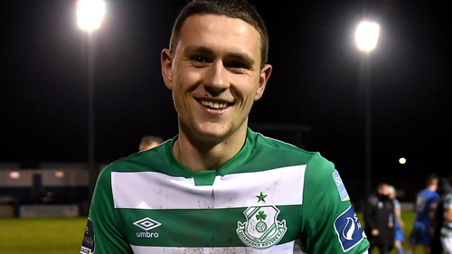 Max Murphy made it a debut to remember by scoring Shamrock Rovers' second goal