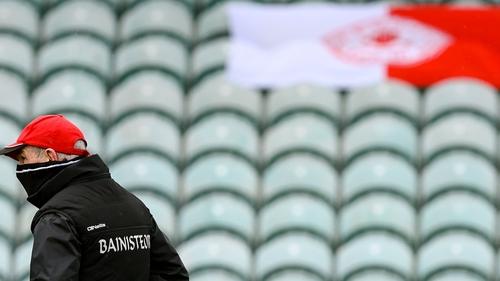 Mickey Harte led Tyrone to three All-Ireland titles