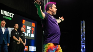 Peter Wright averaged 104.33 in the final