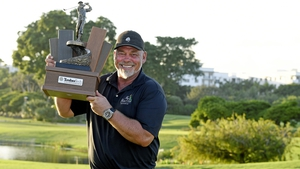 Darren Clarke with the prize