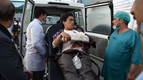 The attack also left at least 22 people injured in Kabul