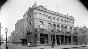 Dublin's Theatre Royal on Hawkins Street in 1912. Photo: National Library of Ireland via Flickr