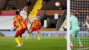 Bobby Decordova-Reid heads home Fulham's opener