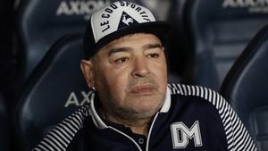Diego Maradona currently coaches Gimnasia y Esgrima in Argentina's top flight