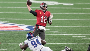 Tom Brady and the Buccaneers held on for victory