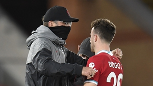 The Liverpool boss is more than happy with Jota's contribution so far
