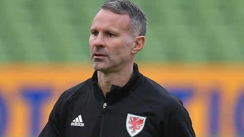 Giggs remains on leave as was the case for Wales' games in November