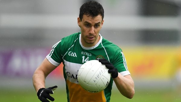 Niall McNamee had a massive influence for Offaly in the final quarter