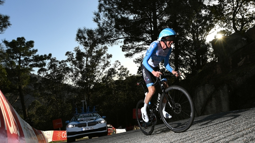 Daniel Martin during today's stage