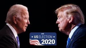 After US media called Michigan for Joe Biden, he is now projected to have 264 electoral votes with 214 for Trump