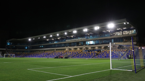 The new stadium at Plough Lane