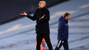 Pep Guardiola is taking a patient approach before unleashing Sergio Aguero