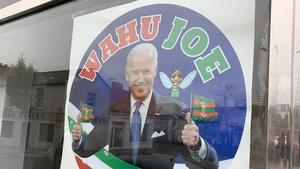 Joe Biden's great, great, great grandfather Edward Blewitt emigrated from Ballina