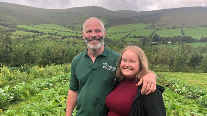 Everything changed for the couple when they spotted a farm nestled in a majestic glen known as Gleann na nGealt - the 'valley of the mad'