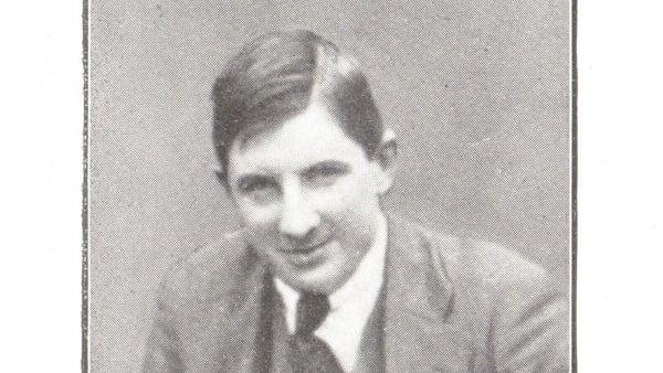 Diarmuid O'Hegarty. Image courtesy of Kilmainham Gaol Museum/OPW KMGLM 20BK-1K32-06