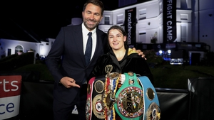 Katie Taylor will be back in the ring next week defending her lightweight titles