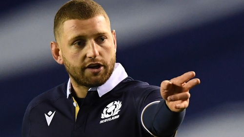 Finn Russell suffered a groin injury against Wales
