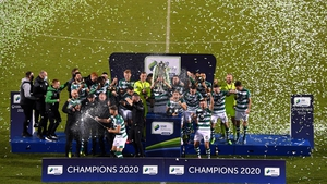 Shamrock Rovers won the league in 2020