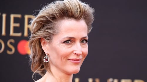 """Gillian Anderson: """"I had to get to a point where it's nothing to do with my opinions of her policies, of her actions."""""""