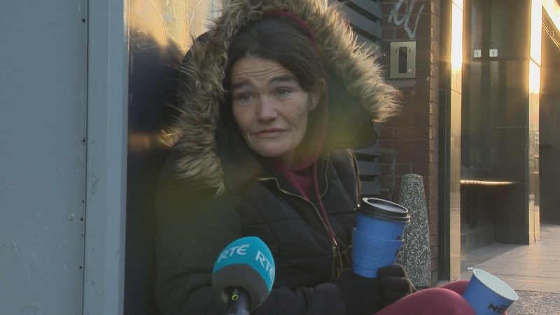 Sharon           said she has noted her mental health 'going down' since           March's lockdown