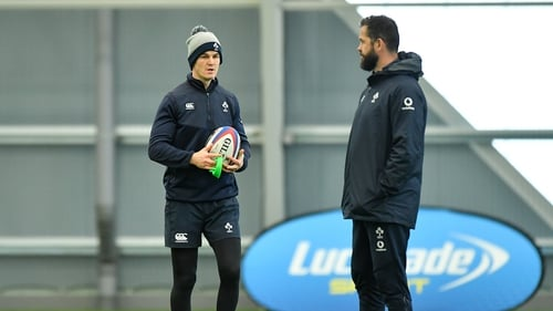 Johnny Sexton believes Ireland are progressing under Andy Farrell