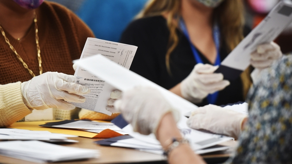 There was a surge in mail-in ballots nationally due to the pandemic