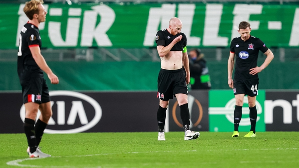 Dundalk scored three in Austria but left empty-handed