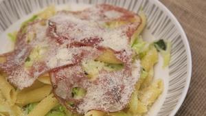 Paul Flynn's rigatoni, cabbage, sage & mortadella
