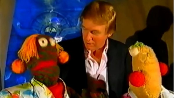 Zig and Zag met Donald Trump in the Bahamas in 1998