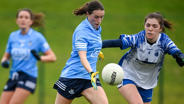 Sinead Aherne played a captain's role for Dublin