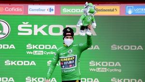 Primoz Roglic after Saturday's stage 17