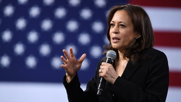 Kamala Harris was born to immigrants to the United States - her father from Jamaica, her mother from India