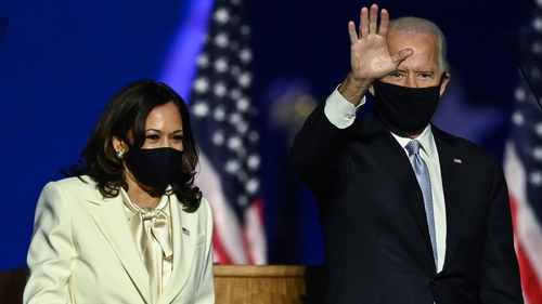 Kamala Harris and Joe Biden were jointly named as Time 'Person of the Year'