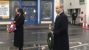 Remembrance service was held in Enniskillen