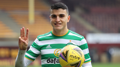 Elyounoussi with the match ball
