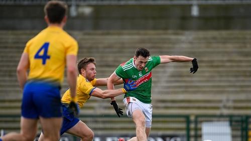 Diarmuid O'Connor slots home Mayo's goal