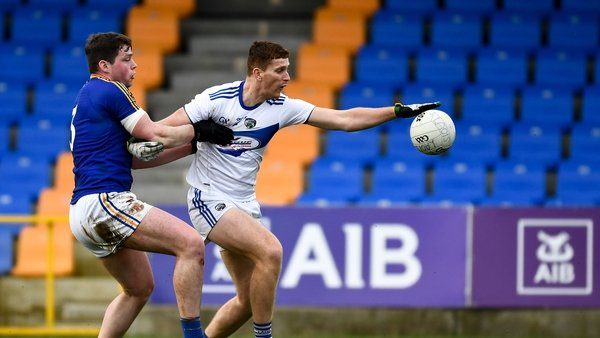 Laois moved ahead in the second half