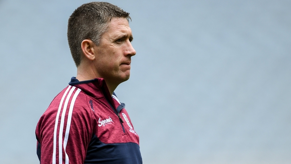 Galway manager Cathal Murray